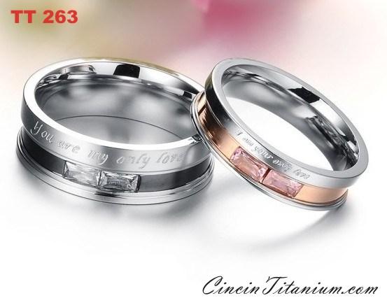 Harga Cincin Kawin Titanium Hitam1